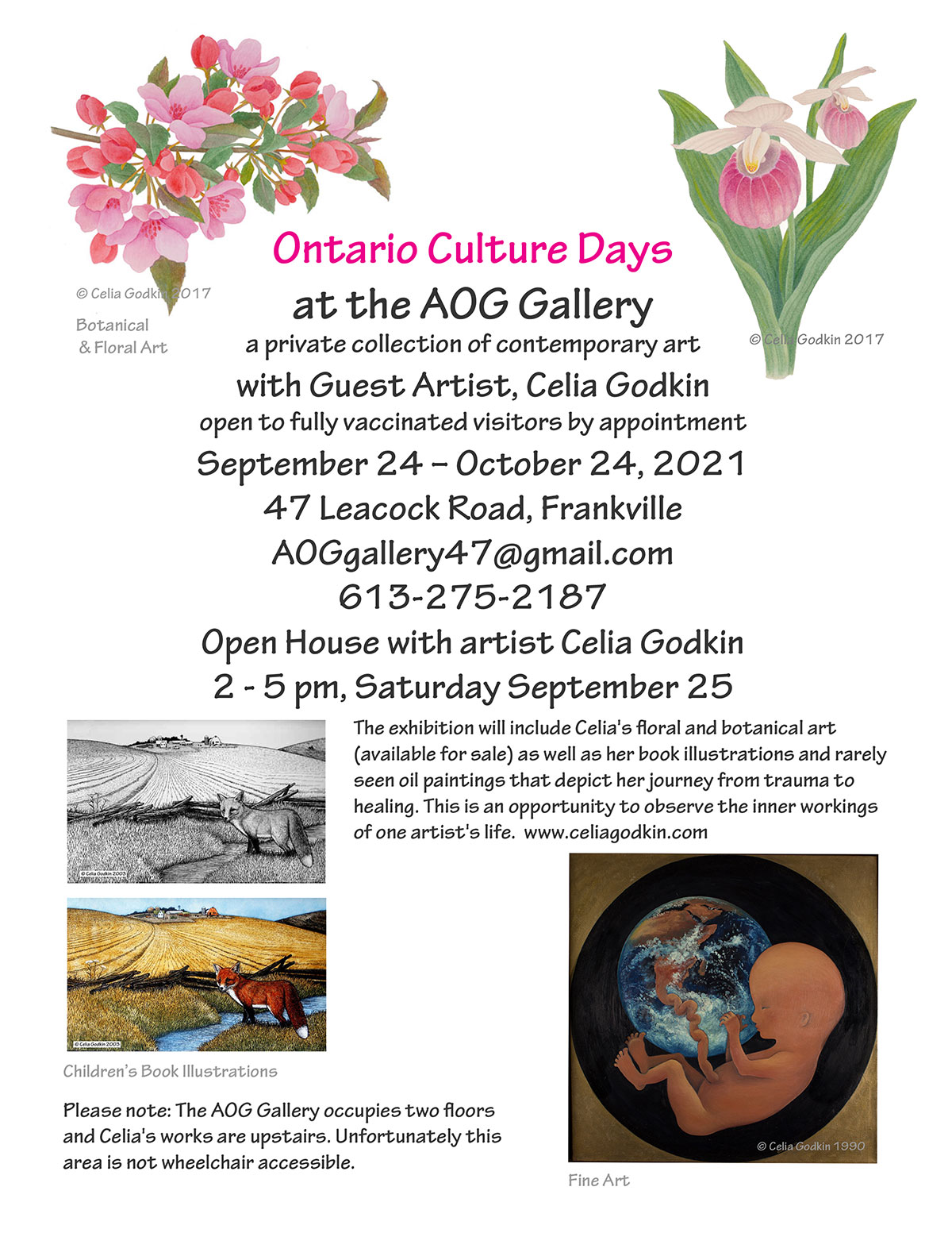 Ontario Culture Days, AOG Gallery